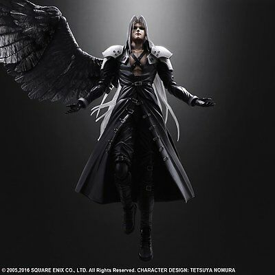 SQUARE ENIX Final Fantasy VII Advent Children Play Arts Kai Sephiroth Japan F/S