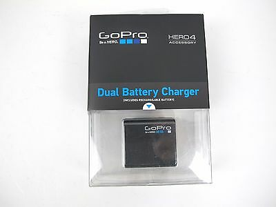 New Sealed Genuine GoPro Battery & Dual Battery Charger For Hero4 AHBBP-401