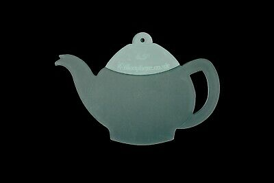 Acrylic teapot and teacup sewing/craft template