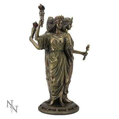 Nemesis Now , Hecate Goddess of Magic LARGE 30cm Statue Hekate , Wicca Pagan
