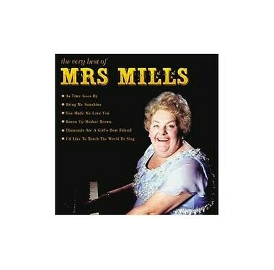 The Very Best Of Mrs Mills -  CD DUVG The Cheap Fast Free Post The Cheap Fast
