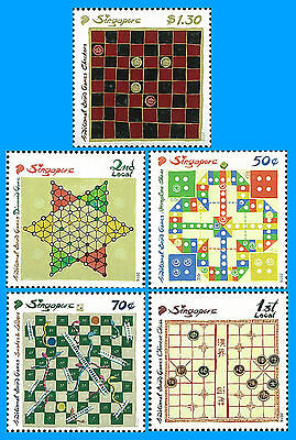 Singapore Stamp, 2016 SIN1602 Tradional Board Games, Chess, Sport