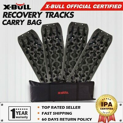 X-BULL NEW 2 Pair Recovery Tracks Sand Track Mud Trax Off Road 4WD Car Carry Bag