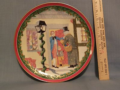 PRICE DROP:DEPT 56 CHARLES DICKENS PLATE, A CHRISTMAS CAROL, DiCKENS VILLAGE