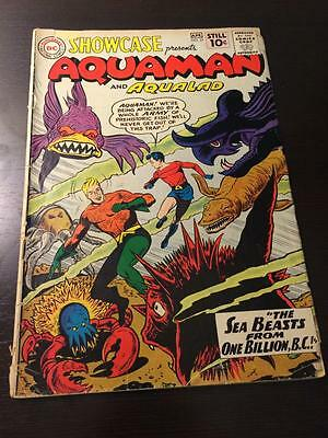 Showcase #31 early Aquaman appearence 1960's low grade DC Comics