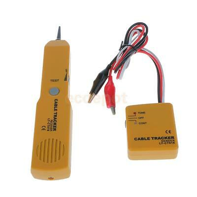Portable RJ11 Network LAN Telephone Wire Cable Line Tracker Tester Finder