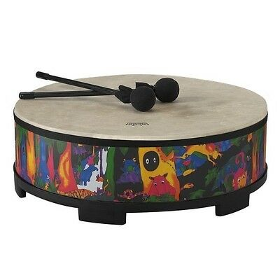 REMO KD-5822-01 22 Inch Gathering Drum w/ Mallets Kids Education Percussion