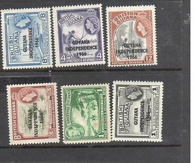 collection of mint british guiana