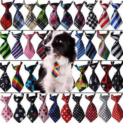 Fashion Adjustable Bow Tie Necktie Collar Cute Dog Cat Puppy Pet Kitty Accessory