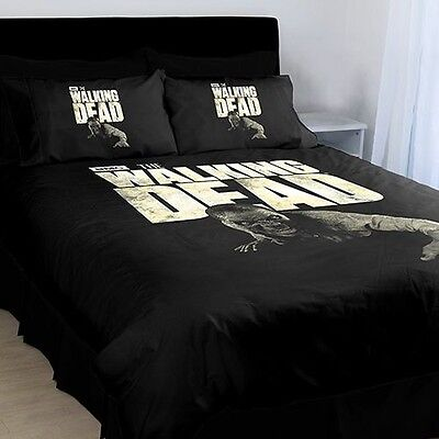 The Walking Dead Stumpy Quilt Cover Set (Black)