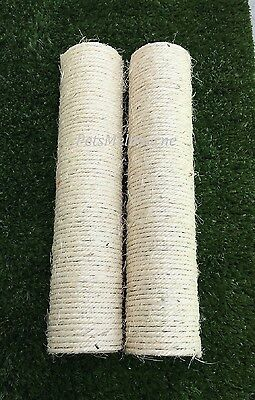 New Cat Tree Scratching Post All SISAL Wrapped Poles / Screws Replacement Parts