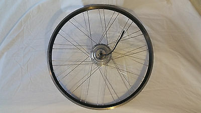 """Spectra 26"""", 250W Wheel eBike electric bicycle: 36V authentic 8FUN motor"""