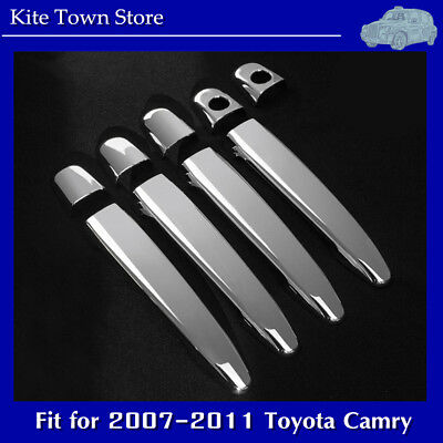 NEW Chrome 4 Door Handle Cover Set for 2007 2008 2009 2010 2011 Toyota Camry