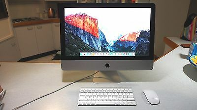 """Apple Imac 21.5"""", Late 2013, 1Tb Hdd, 8Gb Ram, Wireless K/b And Mouse"""