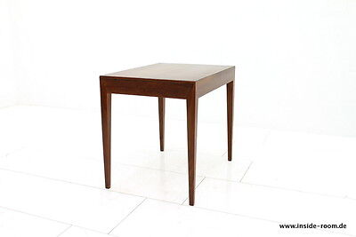 Teak Side Table with Drawer by Severin Hansen by Haslev Denmark, 1960`s