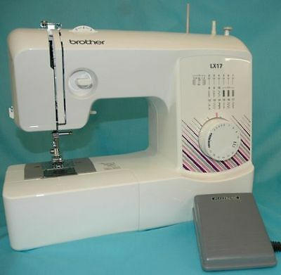 Brother LX17ZU1 Sewing Machine 17 Stitch 3Year Warranty- FREE EXPRESS DELIVERY