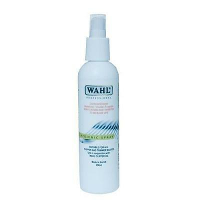 Wahl Hygienic Spray Clipper/Trimmer Disinfectant Cleaner & Rust Inhibitor 250ml
