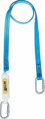 Honeywell 1014330 TITAN A2 webbing lanyard with 2 screwgate karabiners