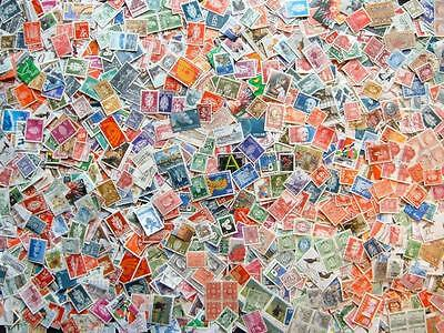 Norway mixture Approx 2000 used stamps.