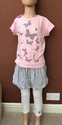BNWT Girls 3 Piece Set By 4 Kids (5-6 Years) *FREE UK P&P*