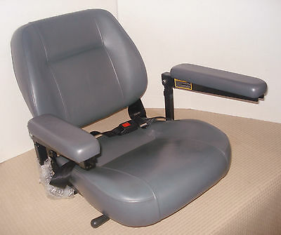 Pride Disability Mobility GO-GO Wheelchair SCOOTER Arm Padded CHAIR