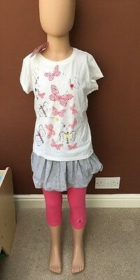 BNWT Girls 3 Piece Set By 4 Kids (3-4 Years) *FREE UK P&P*