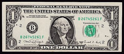 US Federal Reserve Note $1 Series 1988A P-480b New York