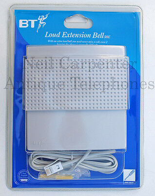BT 50E Loud extension Bell. New in unopened blister pack packaging.