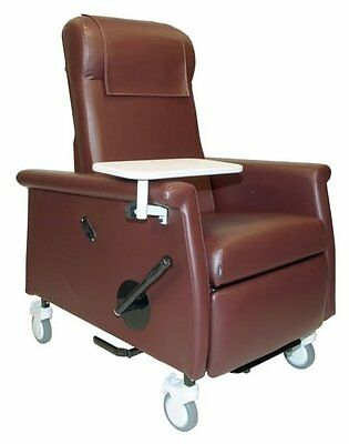Elite Care Recliner with Swing Away Arms Burgundy TB133 and Heat
