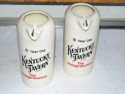 2 x Kentucky Tavern The Vintage Bourbon Pitcher/ Wasserkrug