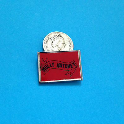 Molly Hatchet early 80s metal pin badge