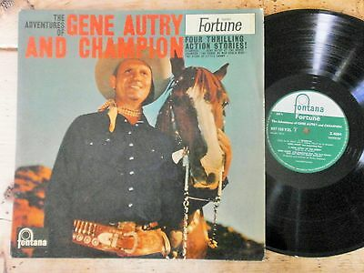 The Adventures Of Gene Autry And Champion. 1959 UK Fontana LP N/Mint