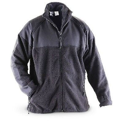 USGI Jacket, Black Fleece, Size Small, New in Bag, FREE SHIPPING!