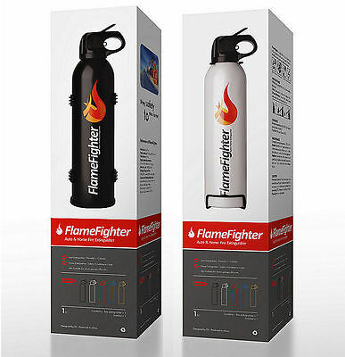 Car, Home & Caravan 600g ABC Dry Powder Safety Fire Extinguisher with Bracket