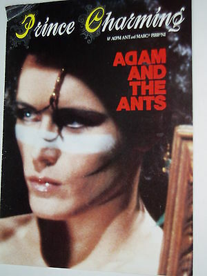 "ADAM AND THE ANTS.....(UK) sheet music.....""PRINCE CHARMING""....FREE POST"