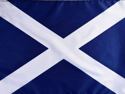 5ft x 3ft Fabric Scottish Saltire Scotland National Flag - Flags for Sale