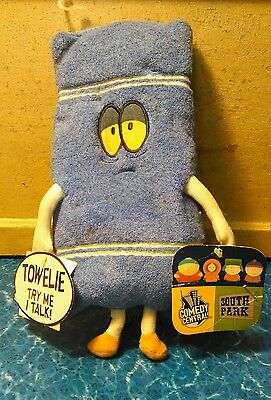 South Park Plush Talking Towelie 2002 With Tags