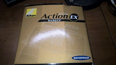 Nikon Binocolo ACTION EX 8 x 40 CF waterproof come nuovo