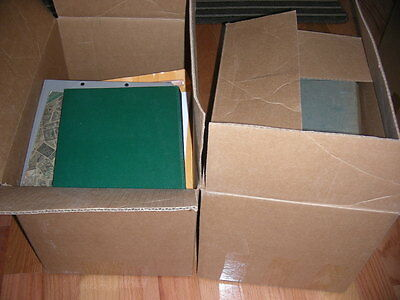 US/WW, Accumulation of 1000's of Stamps in 14 albums/binders, cigar boxes & othe