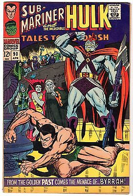 Tales to Astonish #90 with Incredible Hulk & Sub-Mariner, Very Fine Condition.
