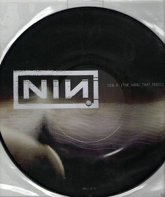 "Nine inch nails - The hand that feeds 10"" picture disc"