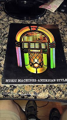 MUSIC MACHINES- AMERICAN STYLE  - Cynthia Hoover  1971