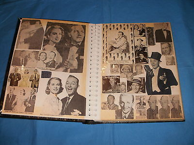 Newspaper Clipping Scrapbook Grace Kelly Bing Crosby Danny Kaye Bob Hope Etc