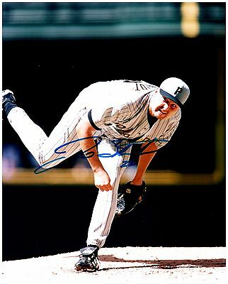 Pittsburgh Pirates JASON SCHMIDT Signed Autographed 8x10 Pic. B