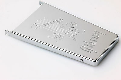 """Gibson Maestro Vibrola Cover """"Lyre"""" Nickel plated"""