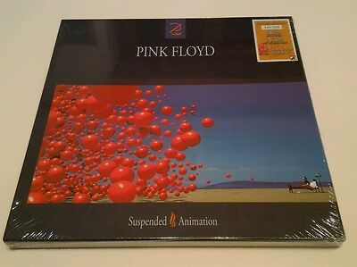 PINK FLOYD - SUSPENDED ANIMATION Box Limited Edition 4LP colored 2Cd nr. 349/500
