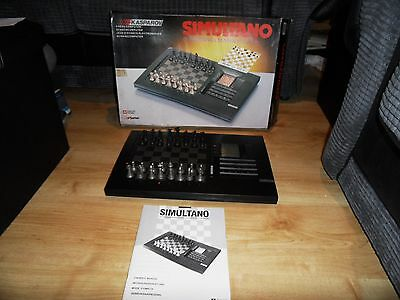 Saitek Kasparov Simultano sought after  chess computer / schachcomputer y218