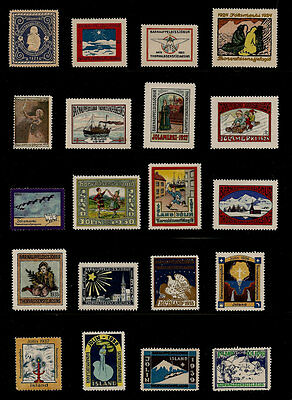 Iceland 1921-95 Christmas Seal Collection