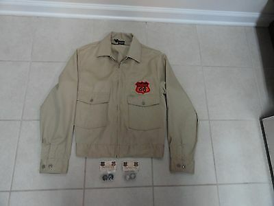 Phillips 66 Uniform Jacket and 2 Packages of Marbles Collectible Memorabilia