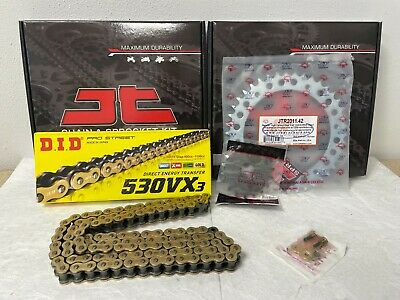 Triumph Speed Triple 1050 Chain And Sprocket Kit 05-11 Heavy Duty Gold X-Ring